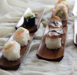 Sushiplankje, serveerplank voor sushi/sashimi
