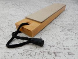 Stropping wood - Saddle Leather - mini
