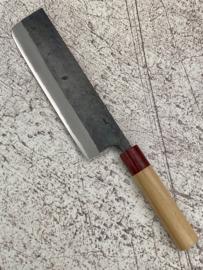Muneishi Aogami Nakiri (groentemes), 180 mm -Kuroichi-