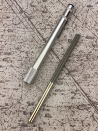 Shinsakuto compact diamond sharpening rod # 800, round for grinding serrations - 7.5 cm -