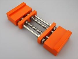 Japanse slijpsteenhouder deluxe - oranje -
