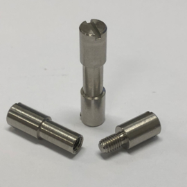 Corby bout (Corby Style Bolt) -RVS- 5mm x 4mm