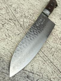 Kagemitsu Senshi VG-10 Tsuchime damascus Gyuto 210 mm (chef's knife)