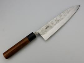 Fujiwara san Nashiji Gyuto (universal knife), 195 mm -rosewood-