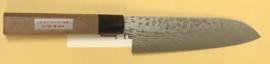 Miki M108 Masamitsu Suminagashi VG10 Santoku (universal knife), 170 mm