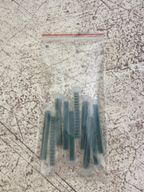 10x losse mengspuitjes voor 2-componenten epoxy lijm