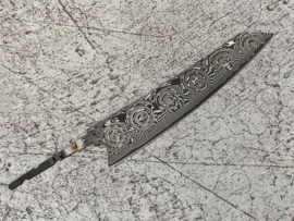 Seikaku 中国語  Chūgokugo (universal knife), 210 mm, Damascus VG-10 core -sharpened-