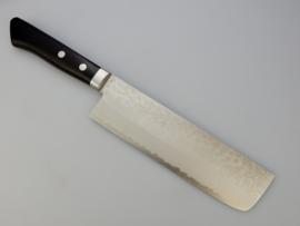 Masutani VG-10 Nashiji damascus Nakiri (vegetable knife)