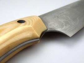 Nomura Gyuto (chefsmes), 180 mm - Ivoor Micarta -