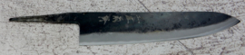 Kagemitsu Amefuri, Gyuto (chefsmes), 240 mm, Sanmai, Aogami #1 kern, -non-stainless cladding - geslepen.