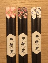 Aziatische eetstokjes, Palissander hout -color-