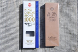 King Deluxe sharpening stone #1000 (Standard quality)
