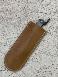 Leather Cover (Sleeve) for Higonokami and pocket knives