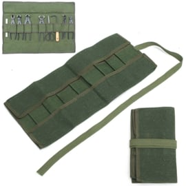 Toolpurse for Bonsai tools - dark green-