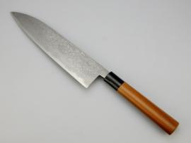 Tosa Matsunaga Aogami damascus Gyuto (chefsmes), 240 mm
