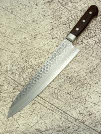 Kagemitsu Senshi VG-10 Tsuchime damascus Gyuto 240 mm (chefsmes)