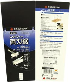 "Gyokucho Razor Saw ""Blue steel"" Ryoba - Japanese saw - professional"
