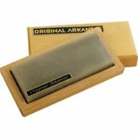 MULLER  Original hard natural Arkansas whetstone, polijststeen