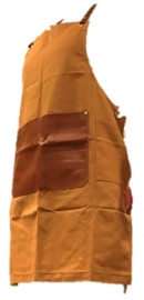 Sharpening Apron (Heavy canvas + leather)