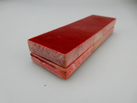 Micarta schaaldelen - rood -
