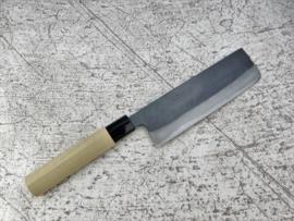 Tosa Amakuni Aogami #2 Nakiri kuroishi (groentemes), 165 mm
