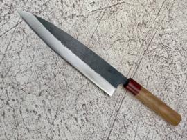 Muneishi Damascus Aogami Gyuto (chefsmes), 240 mm -Kuroichi-