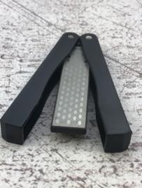 Foldable diamond sharpener 10 cm, #1200/#600