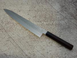 Tsunehisa Shāpu VG-10 Tsuchime damascus Gyuto 240 mm (chefsmes)