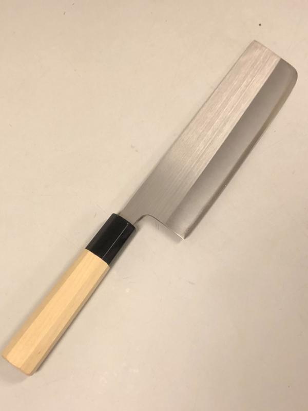 Tosa HSS, R2 powdersteel Nakiri (vegetable knife), 165 mm