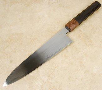 Konosuke MM Blue gyuto (chef's knife), 205 mm, Khii ebony -with saya-