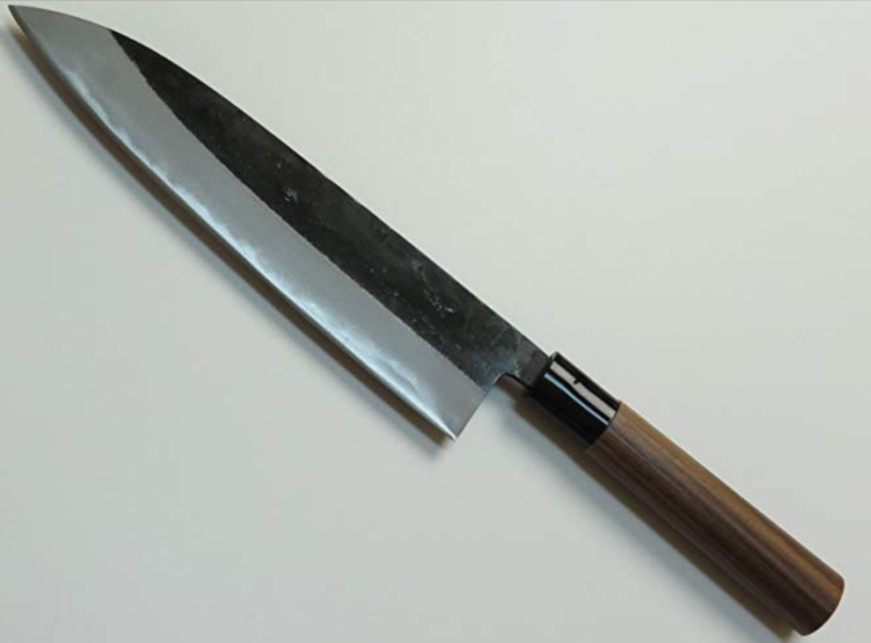 Tosa Sadamune Aogami #2 Gyuto kuroishi (chef's knife), 210 mm