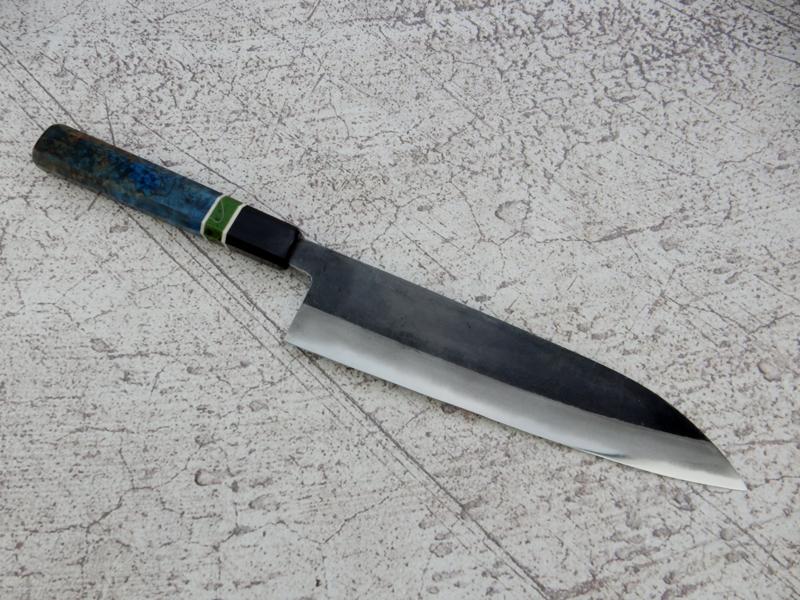 CUSTOM Tosa Sadamune Gyuto (universeel mes), 210 mm