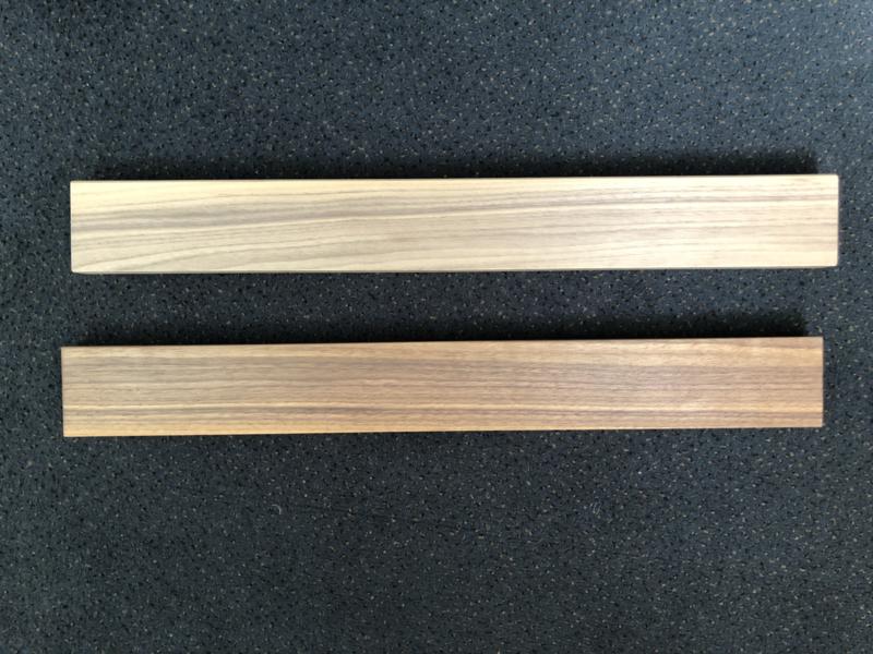 Magneetstrip -Europees Notenhout- 40-55-65 cm