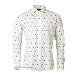 Laksen Flush shirt / overhemd Cream
