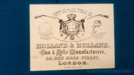 H. Holland Rook Rifle 6,5x57R (tweede hands)