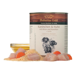 Hubertus Gold menu konijn / haan