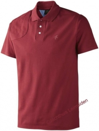 Seeland Polo shirt Biking Red korte mouw