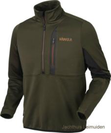 Harkila Tidan Hybrid fleece vest met halve rits