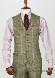 Laksen Tweed dress vest De Grey Limited Edition
