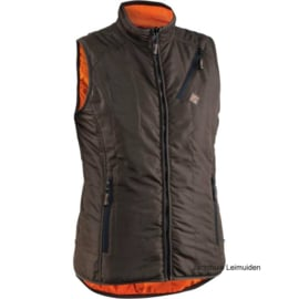 Swedteam Terra Light bodywarmer  Brown/oranje