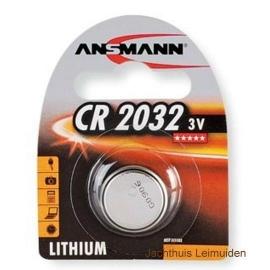 Ansmann CR2032 3V LiCC per 12 stuks