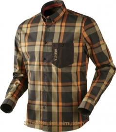 Härkila Amlet shirt Shadow Brown check