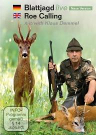 DVD Blattjagd – Roe Calling (reefiepen) van Klaus Demmel.