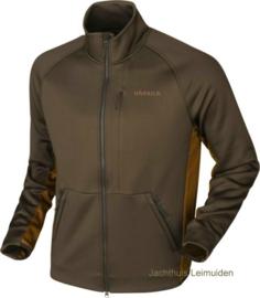 Harkila Borr Hybrid Fleece vest Slate Brown