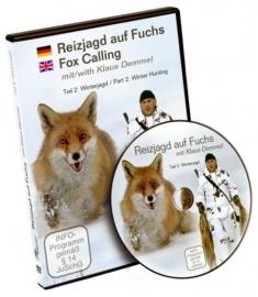 NIEUW: DVD Reizjagd auf Fuchs Teil 2 Winter - Fox Calling Part 2 van Klaus Demmel