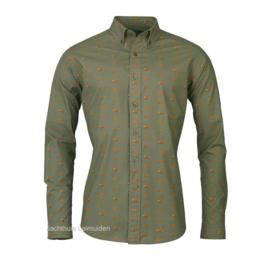 Laksen Fox shirt / overhemd Forest