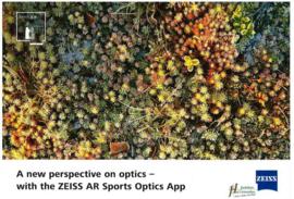 Een nieuw perspectief op optiek - met de Zeiss-AR Sport Optics app