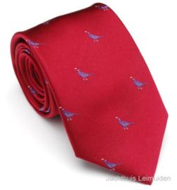 Laksen stropdas Brick Red