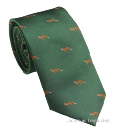 Laksen stropdas British Racing Green