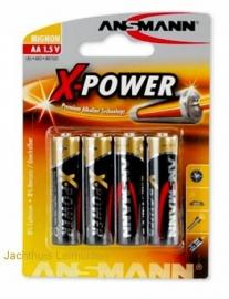 Ansmann Alkaline Xpower batterij AA 1,5V